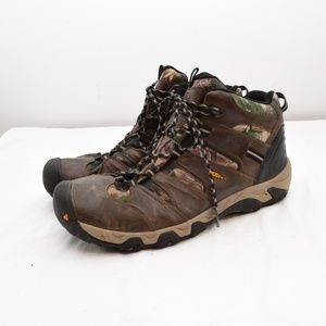 Keen Taghee II Boots, Size 17 Leather Camo